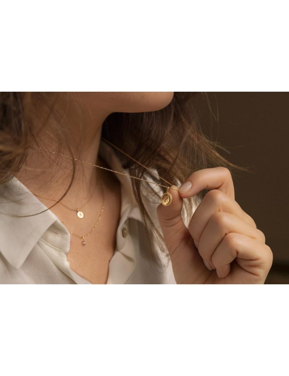 Médaille Colette sur chaine