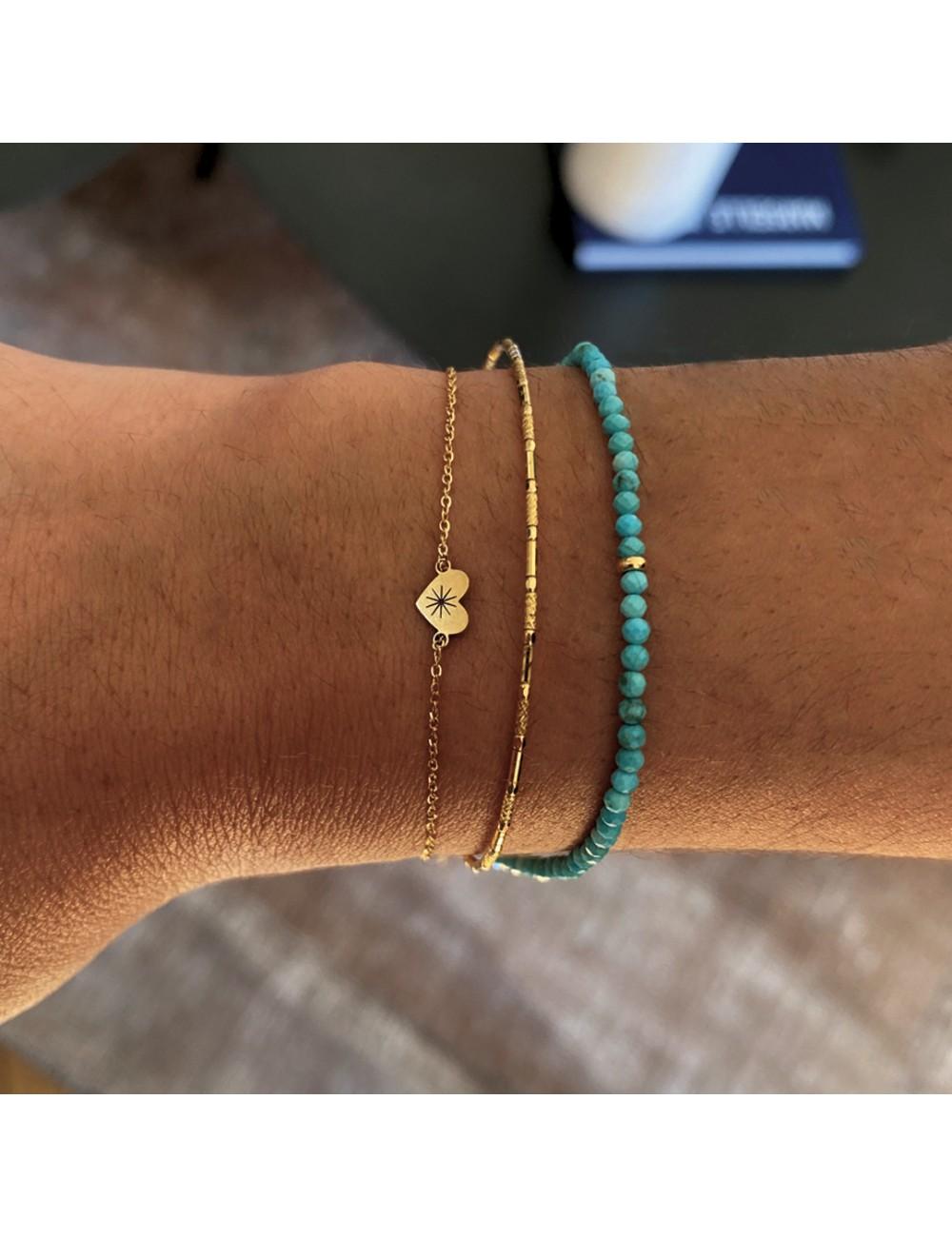 Bracelet Céleste turquoise