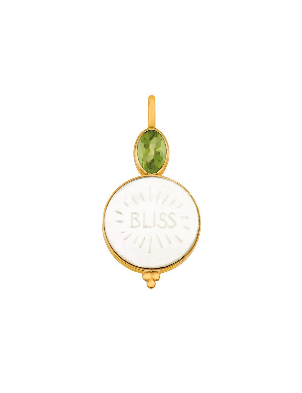 Médaille nacre Bliss • Peridot