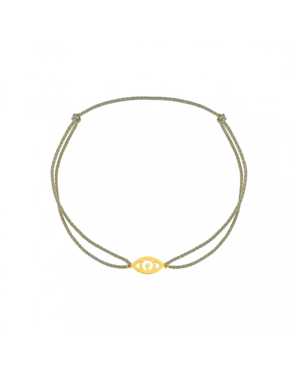 Bracelet Oeil sur cordon