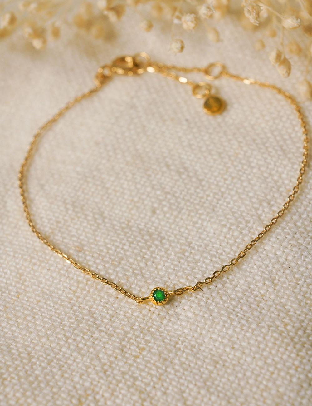 Bracelet Bach * Onyx vert
