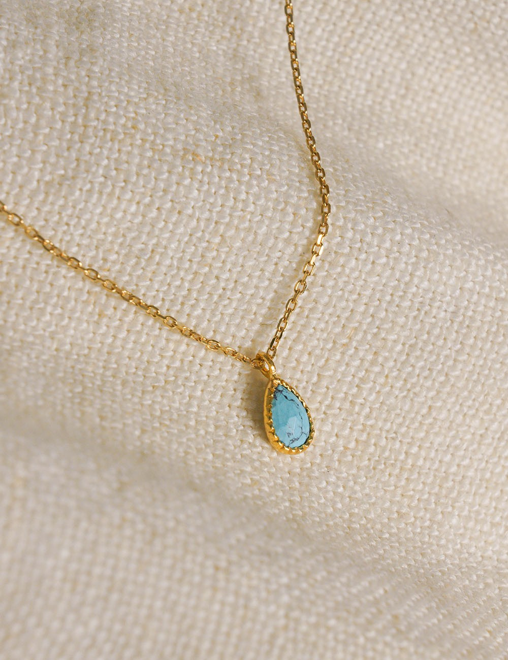 Collier Agathe * Turquoise