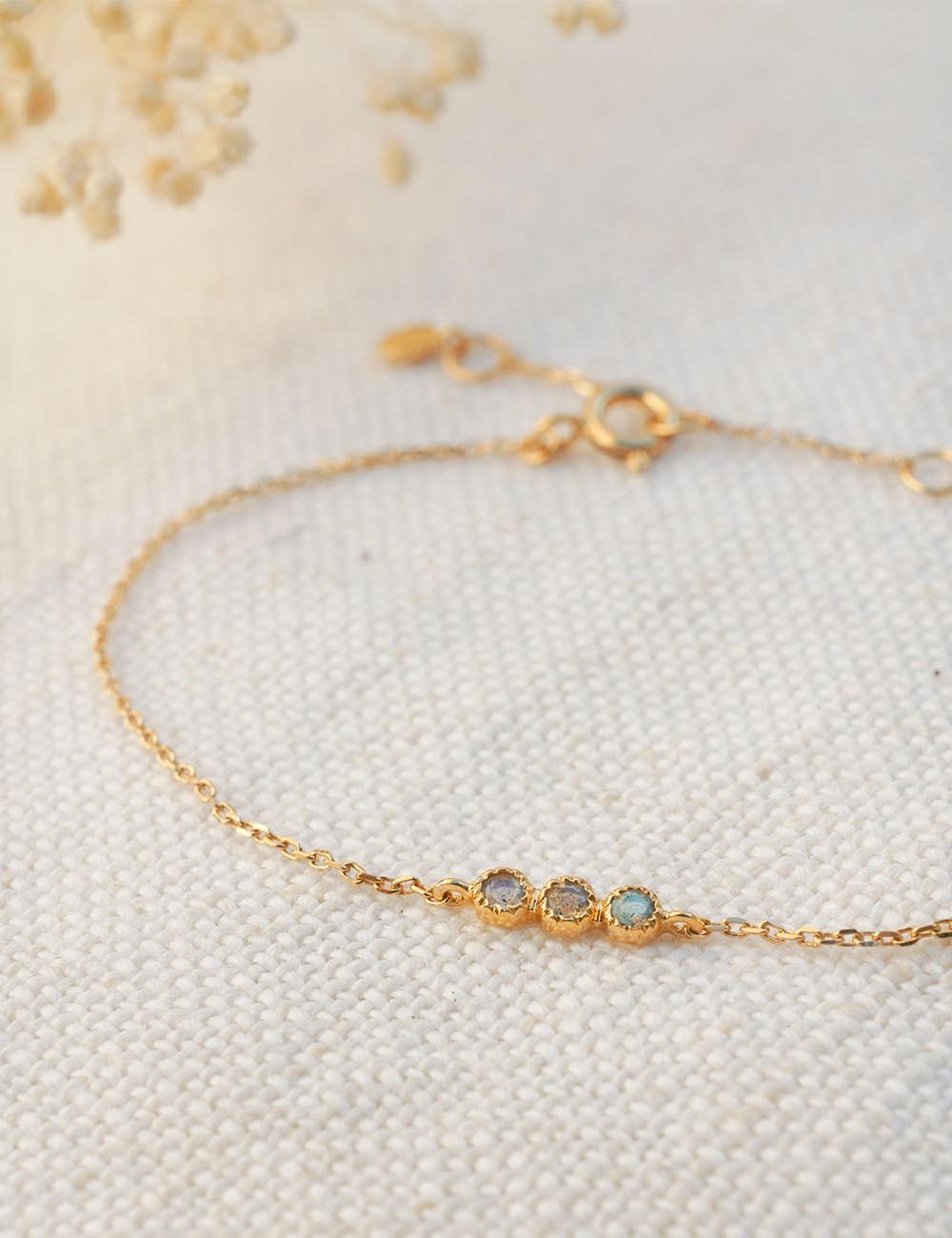 Bracelet Bérénice * Labradorite